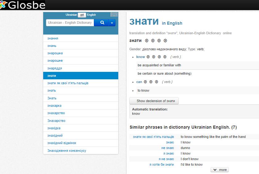 Best Ukrainian Dictionaries for Learning Ukrainian: Online