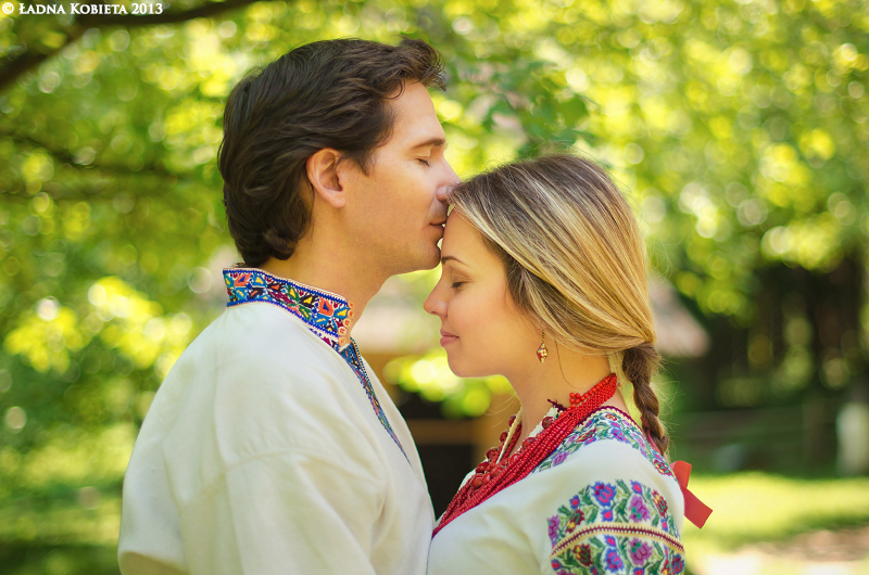 Ukrainian love phrases and romantic words