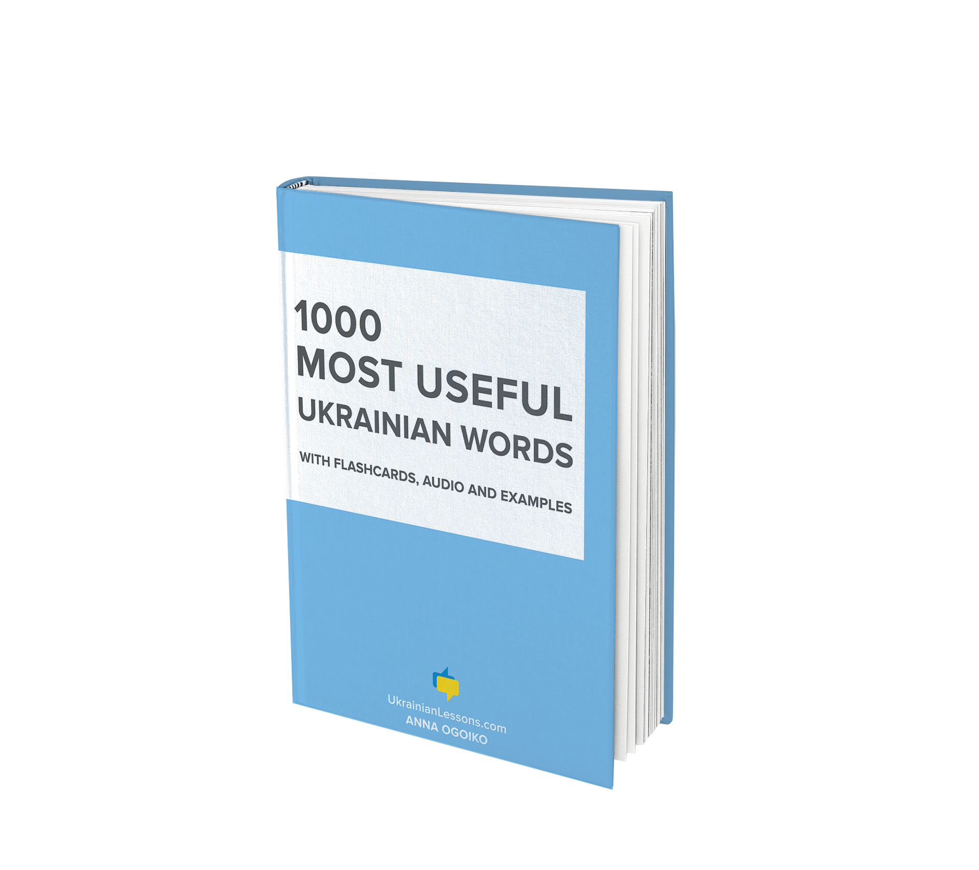 1000 Most Useful Ukrainian Words - Ebook and Flashcards by Anna Ogoiko