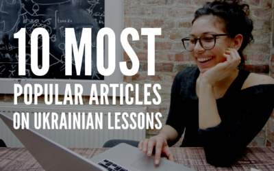 10 most popular articles on Ukrainian Lessons